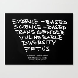 Evidence-Based Canvas Print