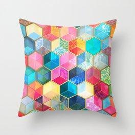 Magic cubes Throw Pillow