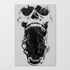 Chaos and Clarity ~ Black Canvas Print