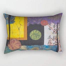 Floating World Rectangular Pillow