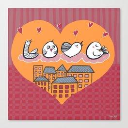 Say I love you Canvas Print