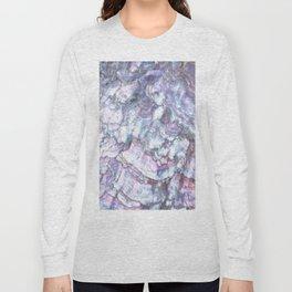 Mermaid Shell Beautiful Pearly Surface #decor #society6 #buyart Long Sleeve T-shirt