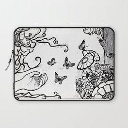 Releasing Butterflies Laptop Sleeve