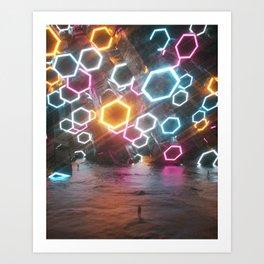 12.31.16 BYE Art Print