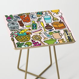 Cocktail Hour Side Table