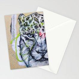 Le Léopard (Série Les Félins 1)  Stationery Cards