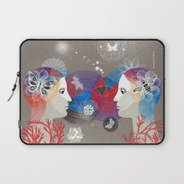 Twins Art Dream Laptop Sleeve