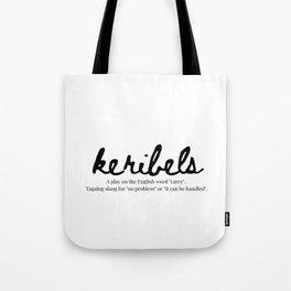 Filipino Expressions: Keribels Tote Bag