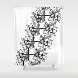 Lotus Lei Shower Curtain
