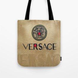 V - VER-SACE Tote Bag