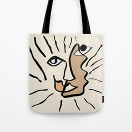 Portrait 5 Tote Bag