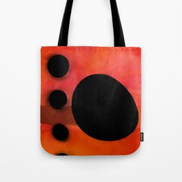 """Abstract city sunset"" Tote Bag"