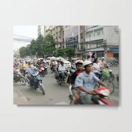 Vietnam - Heart of Ho Chi Minh Metal Print