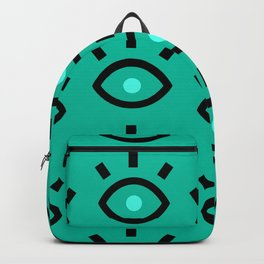 Eyes green Backpack