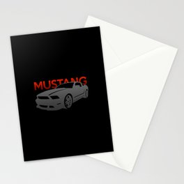 Ford Mustang Boss Stationery Cards