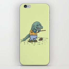 Geriatricasaur iPhone Skin
