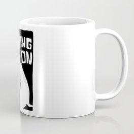 moping on Coffee Mug