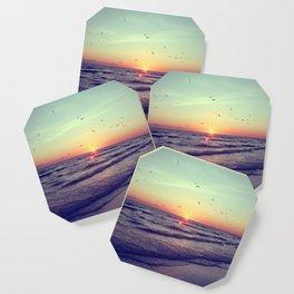 Siesta Key Sunset Coaster