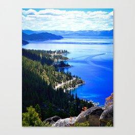 North Lake View Canvas Print