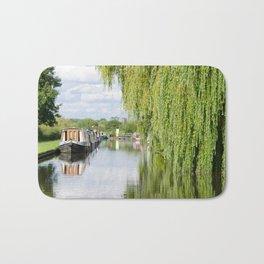 Alrewas canal scene Bath Mat