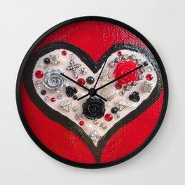 heart full of things Wall Clock