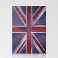 reassurance Stationery Cards featuring British by Magdalena Hristova
