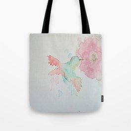 Hungry Hummingbird Tote Bag