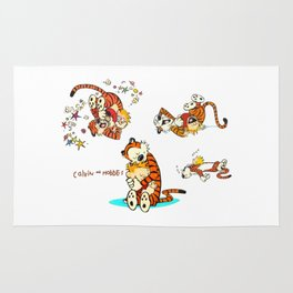 Calvin and Hobbes all Rug