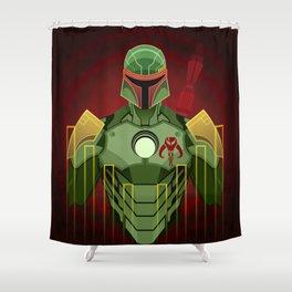 The Bounty Hunter Shower Curtain