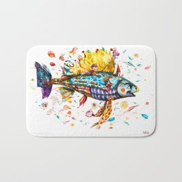 Toy's Fish Bath Mat