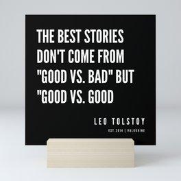 29  | Leo Tolstoy Quotes | 190608 Mini Art Print
