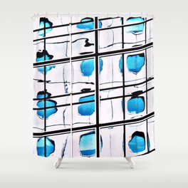 A Reflection of Jardine House Shower Curtain