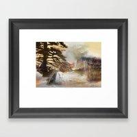 True Canadian North Framed Art Print