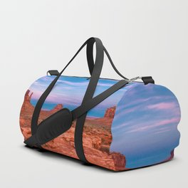 Westward Dreams - Sunset in Monument Valley Duffle Bag