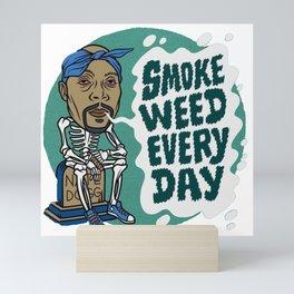 Smoke weed Mini Art Print