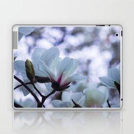 Bokeh Magnolias Laptop & iPad Skin
