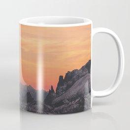 Pastel Sunset #mountains #society6 Coffee Mug