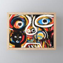 Anthropogonie Framed Mini Art Print