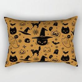 Halloween Pattern Rectangular Pillow