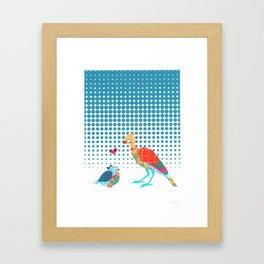 Nerd Birds Framed Art Print