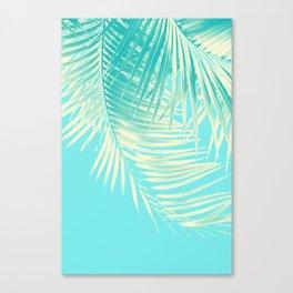 Palm Leaves Summer Vibes #4 #tropical #decor #art #society6 Canvas Print