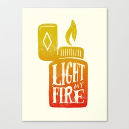Light my Fire V2 Canvas Print