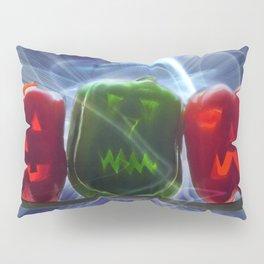 Jack O Lantern Bell Peppers Pillow Sham
