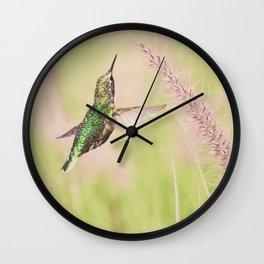 Little Hummer Wall Clock