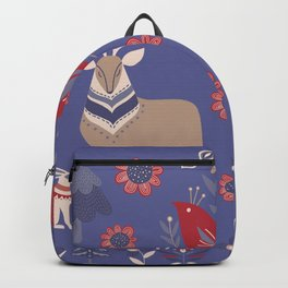Scandinavian Winter Pattern #society6 #buyart Backpack