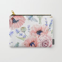 Fall Country Flowers Carry-All Pouch