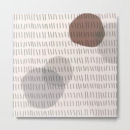 Coit Pattern 23 Metal Print