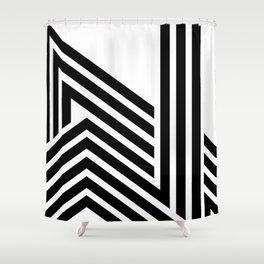 Hello II Shower Curtain