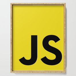 JavaScript Serving Tray