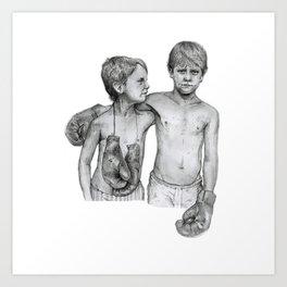 Bromley Boxing Boys Art Print